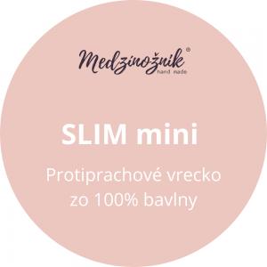 Protiprachové vrecúško na Medzinožník SLIM mini