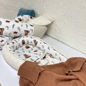 SET pre novorodenca NA OBJEDNÁVKU s mantinelom