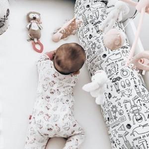 Medzinožník kojenecký - Les na bielej